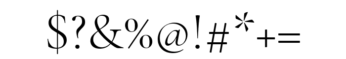 Cormorant Infant 300 Font OTHER CHARS