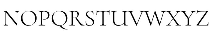 Cormorant Infant 300 Font UPPERCASE