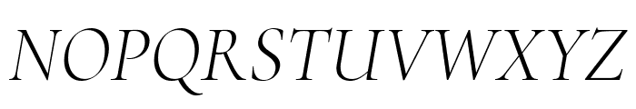Cormorant Infant 300italic Font UPPERCASE
