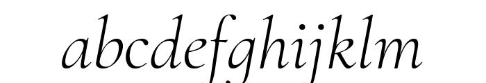 Cormorant Infant 300italic Font LOWERCASE