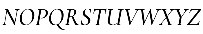 Cormorant Infant 500italic Font UPPERCASE