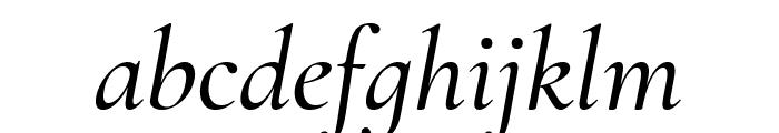 Cormorant Infant 500italic Font LOWERCASE