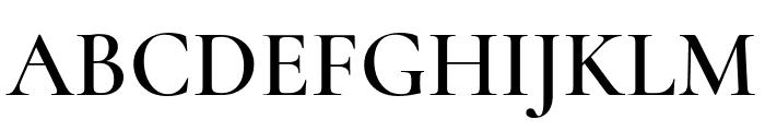 Cormorant Infant 600 Font UPPERCASE