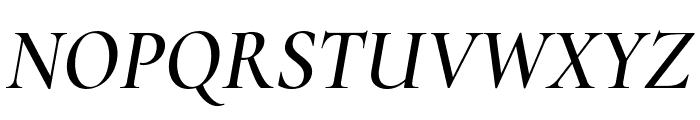 Cormorant Infant 600italic Font UPPERCASE