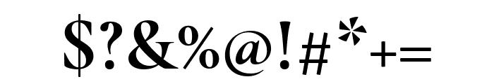 Cormorant Infant 700 Font OTHER CHARS