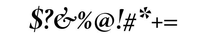 Cormorant Infant 700italic Font OTHER CHARS
