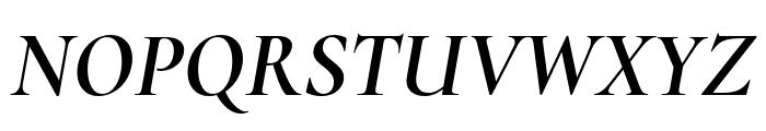 Cormorant Infant 700italic Font UPPERCASE