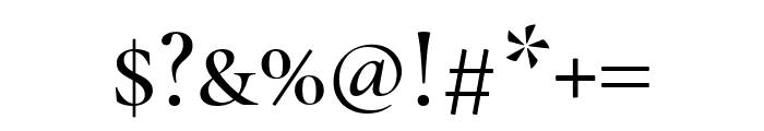Cormorant SC 500 Font OTHER CHARS