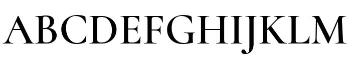 Cormorant Unicase 600 Font UPPERCASE