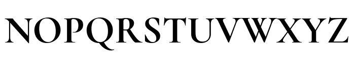 Cormorant Unicase 700 Font UPPERCASE