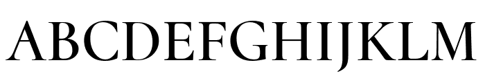 Cormorant Upright 600 Font UPPERCASE