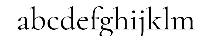 Cormorant regular Font LOWERCASE