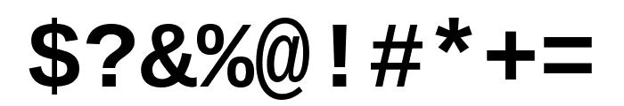 Cousine 700 Font OTHER CHARS