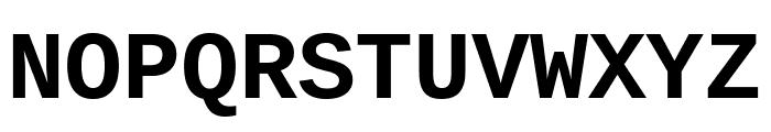 Cousine 700 Font UPPERCASE