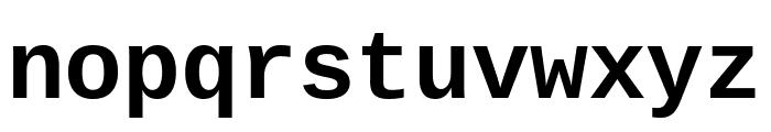 Cousine 700 Font LOWERCASE