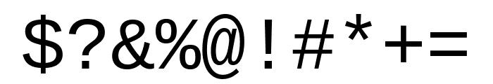 Cousine regular Font OTHER CHARS