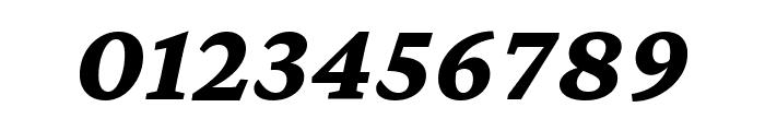 Crimson Pro 800italic Font OTHER CHARS