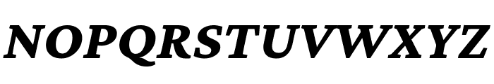Crimson Pro 800italic Font UPPERCASE