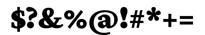 Crimson Pro 900 Font OTHER CHARS
