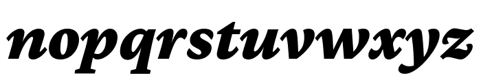 Crimson Pro 900italic Font LOWERCASE