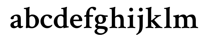 Crimson Text 600 Font LOWERCASE