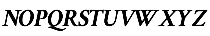 Crimson Text 700italic Font UPPERCASE