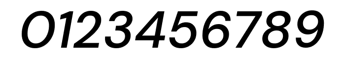 DM Sans 500italic Font OTHER CHARS