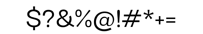 Darker Grotesque 500 Font OTHER CHARS