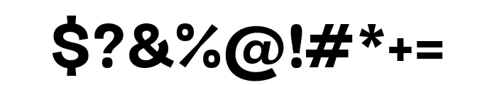 Darker Grotesque 800 Font OTHER CHARS