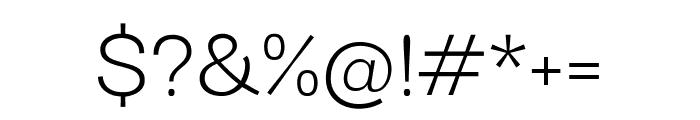 Darker Grotesque regular Font OTHER CHARS