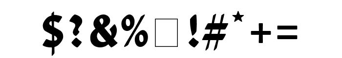 David Libre 700 Font OTHER CHARS
