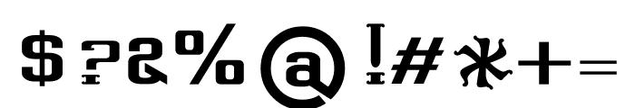 Dhurjati regular Font OTHER CHARS
