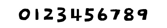 Dokdo regular Font OTHER CHARS
