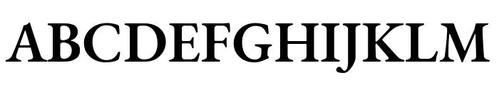 EB Garamond 600 Font UPPERCASE