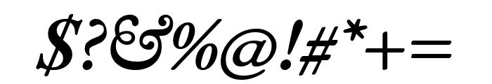 EB Garamond 600italic Font OTHER CHARS