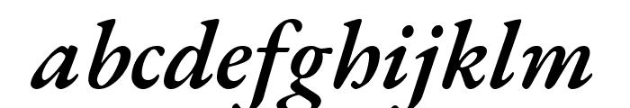 EB Garamond 600italic Font LOWERCASE