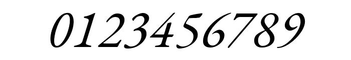 EB Garamond italic Font OTHER CHARS