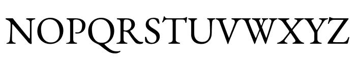 EB Garamond regular Font UPPERCASE