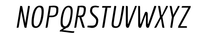 Economica italic Font UPPERCASE