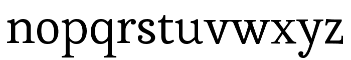 Esteban regular Font LOWERCASE