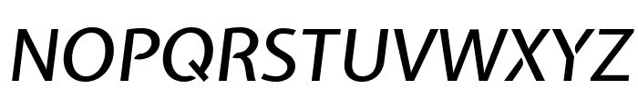 Expletus Sans 500italic Font UPPERCASE
