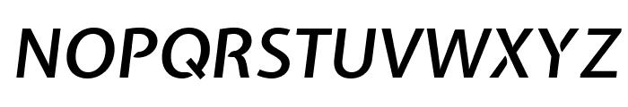 Expletus Sans 600italic Font UPPERCASE