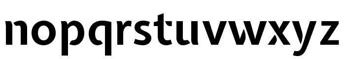 Expletus Sans 700 Font LOWERCASE