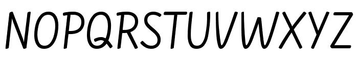Farsan regular Font UPPERCASE