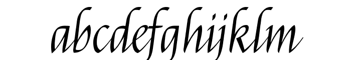 Felipa regular Font LOWERCASE