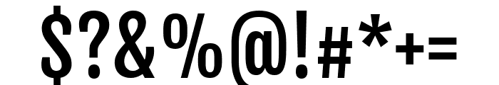 Fjalla One regular Font OTHER CHARS