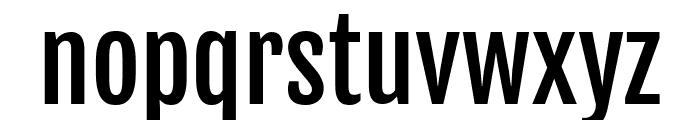 Fjalla One regular Font LOWERCASE