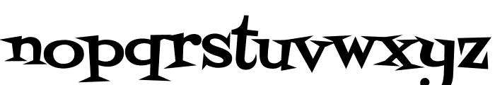 Fontdiner Swanky regular Font LOWERCASE