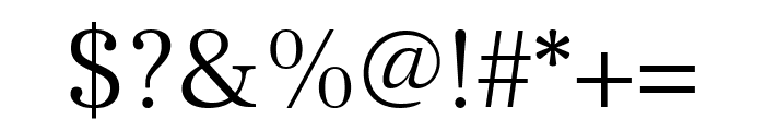Frank Ruhl Libre 300 Font OTHER CHARS