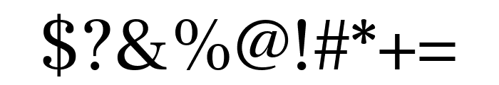 Frank Ruhl Libre regular Font OTHER CHARS